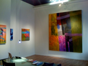 Installation view: Quinton Bemiller at Jill Thayer Galleries at the Fox (c. 2007)
