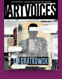 Artvoices Magazine Cover, Winter 2013. ©2013 Tm Gratkowski.