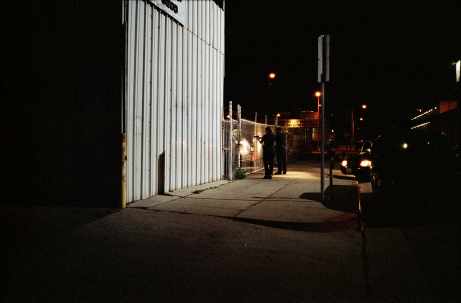 "Olivier Mirguet, ""Untitled,"" LA Supervision Series, 2006 - 2012. 30 x 15""."