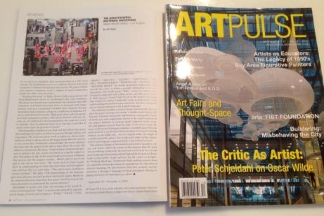 ARTPULSE Magazine Miami_Tm Gratkowski review by Jill Thayer PhD