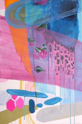 "Debra Bianculli, ""Betacarotene,"" 2013, Acrylic on canvas, 18 x 24"""