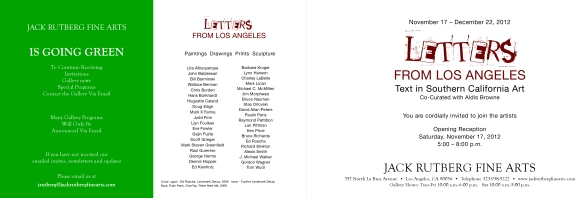 Letters from LA-2
