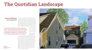 Susan Stillman Interview by Jill Thayer PhD Artvoices pg1