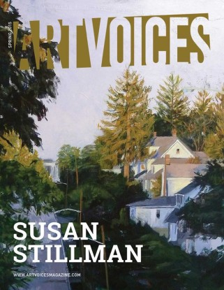 "Cover Page: Susan Stillman ""Alexander Avenue,"" 2012 acrylic on canvas 44 x 50 inches"