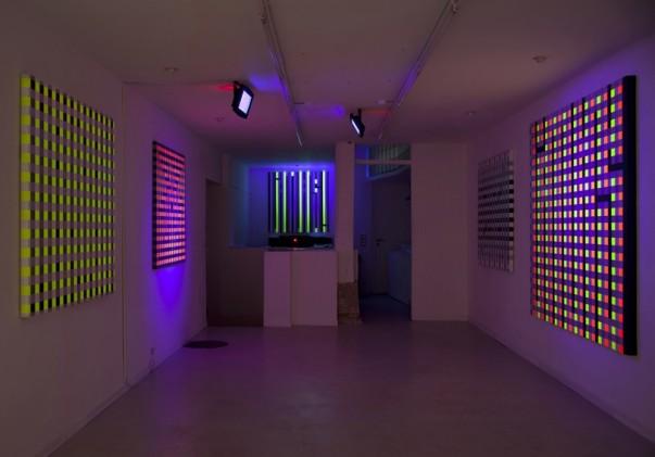 L'Atlas' recent show at Galerie Magda Danysz, Paris.