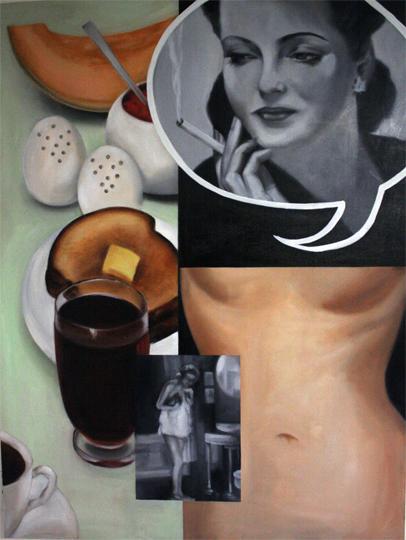 Well Balanced_48x36_Oil on canvas