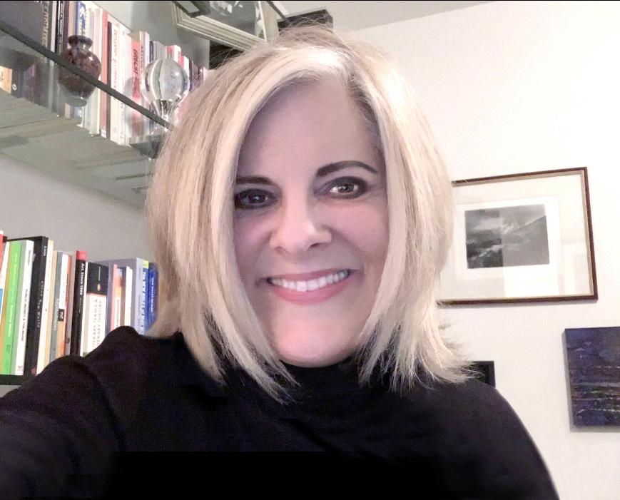 Jill Thayer PhD in studio